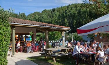 Bar og restaurant med takeaway