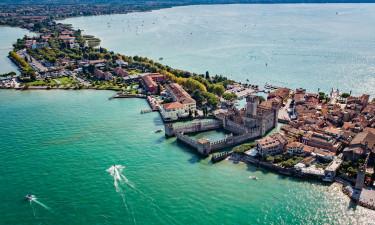 Det skønne område nær Gardasøen