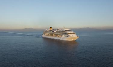 Costa Diadema på havet