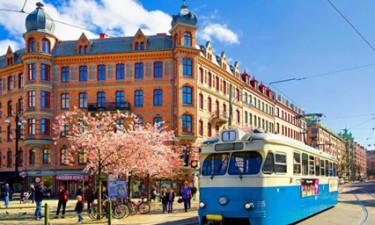 By og sporvogn i Sverige