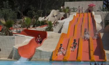 Gigantisk poolområde på hele 16.000 m2