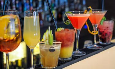 Drinks i baren