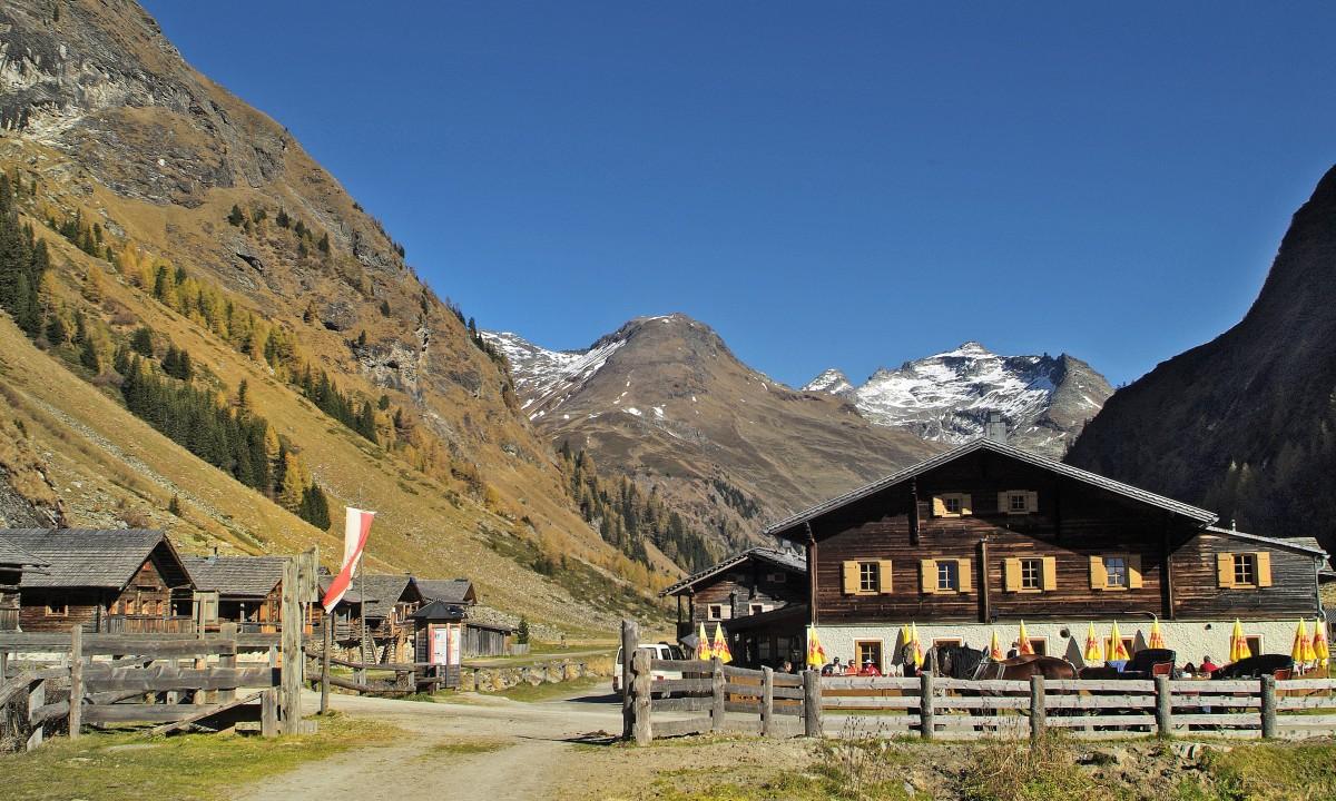 Hoteller midt i naturen i Oest Tyrol, Oestrig