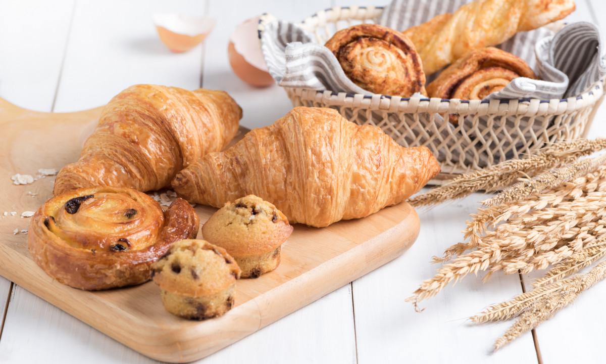 Lækkert fransk bagværk til morgenbordet