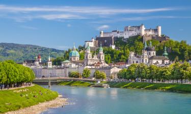 Salzburgerland har mange aktiviteter