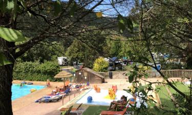 Stor pool og badesø