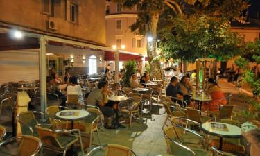 Restauranter, barer og indkøb