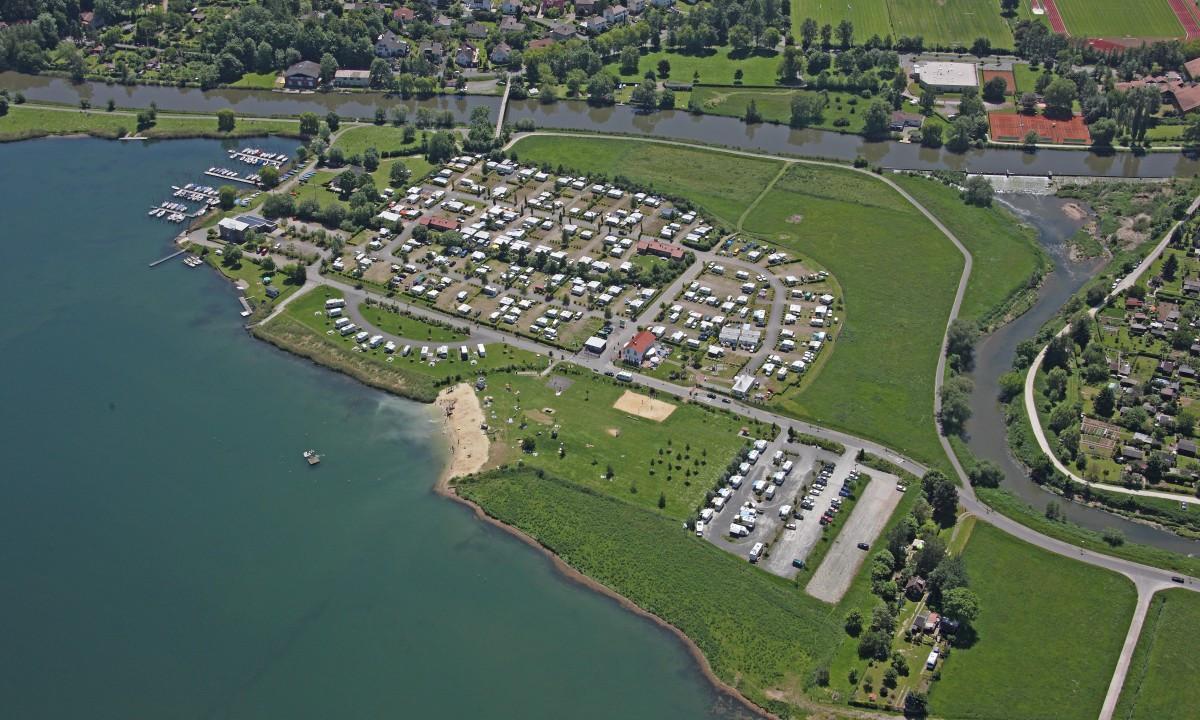 Placering ved søen