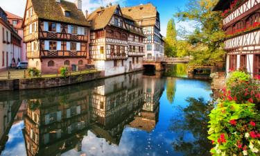 Vinruterne i Alsace
