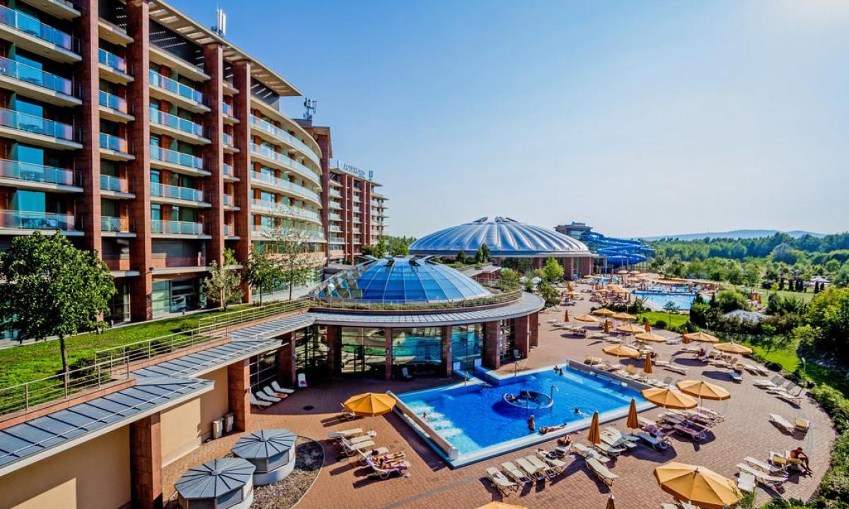 Hotel Aquaworld Resort - Det store badeland i Budapest