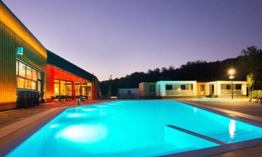 Pool Restaurant Camping Plitvice in Zentral-Kroatien