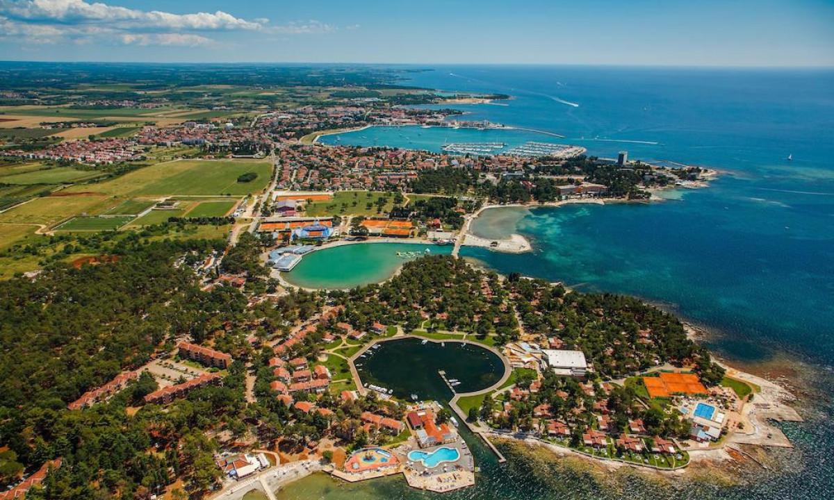 Luftfoto af Istrian Villas og Umag