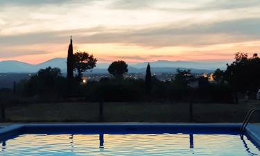 Pool Camping Girona an der Costa Brava