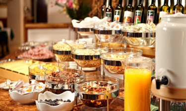 Halvpension - Morgenmadsbuffet