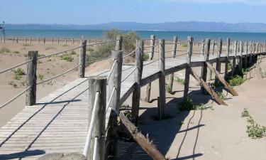 Strand las dunas ved Delta del Ebro