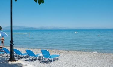 Strand Camping Karda Beach auf Korfu