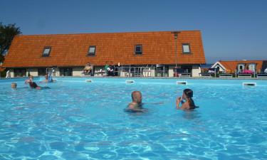 Stor pool og central beliggenhed