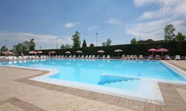 Pool Camping Tiglio am Gardasee