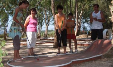 Faciliteter og aktiviteter på Camping Les Palmiers