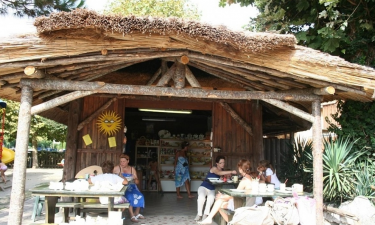 Tahiti camping