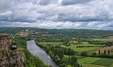 Dordogne flod