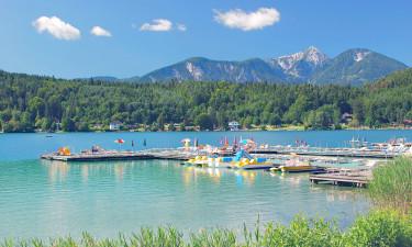 Klopeiner See i Østrig