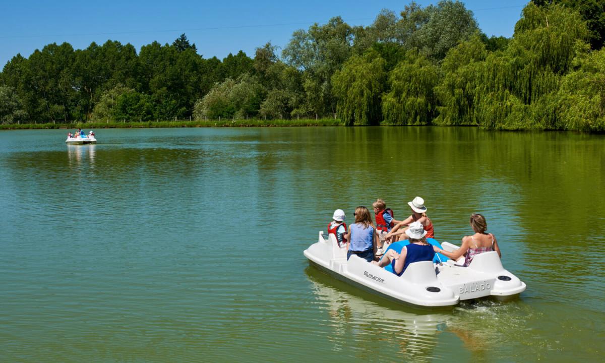 Bådtur på søen