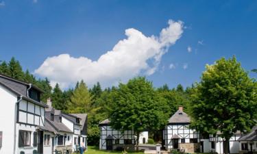 Bo på charmerende og rolige Village Les Gottales