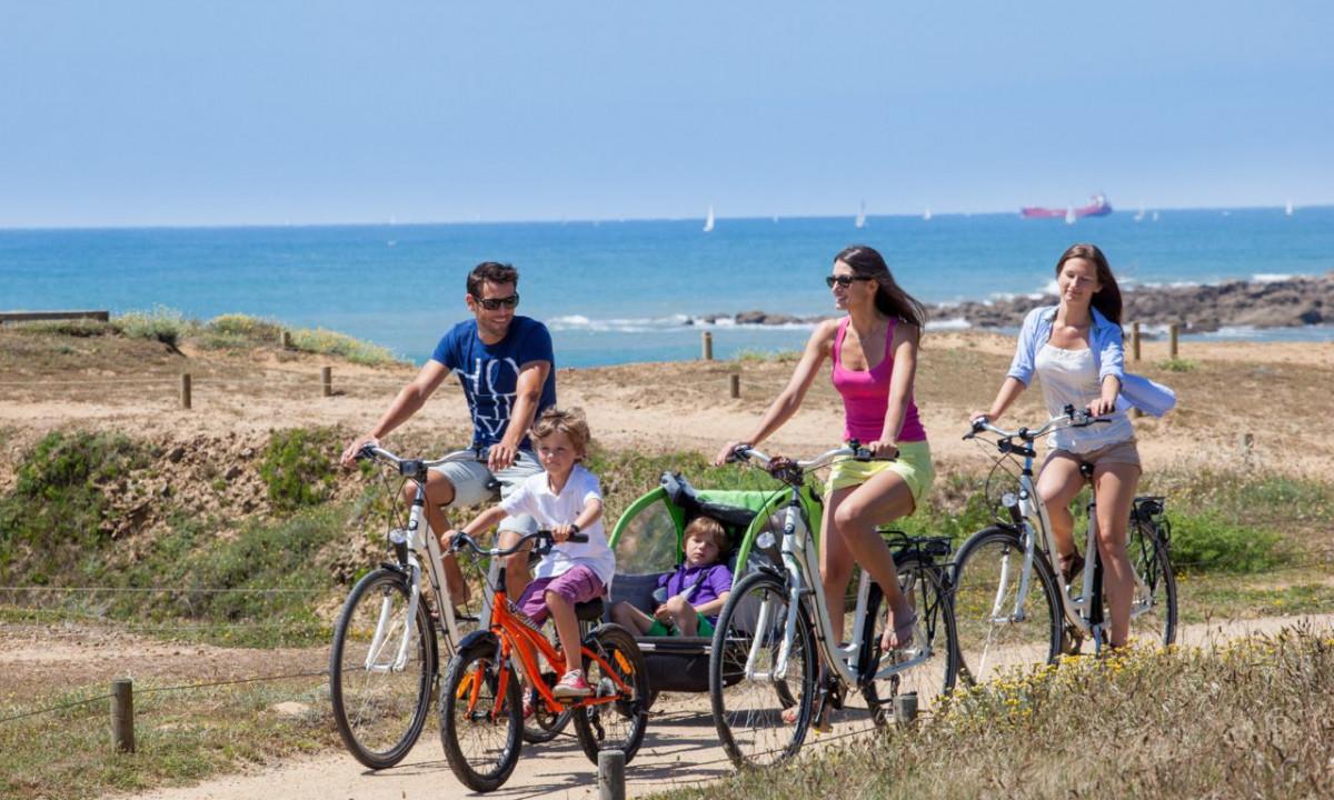 Cykeltur i området
