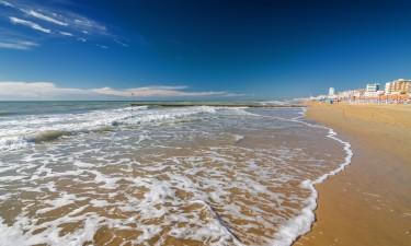 Strand i Italien