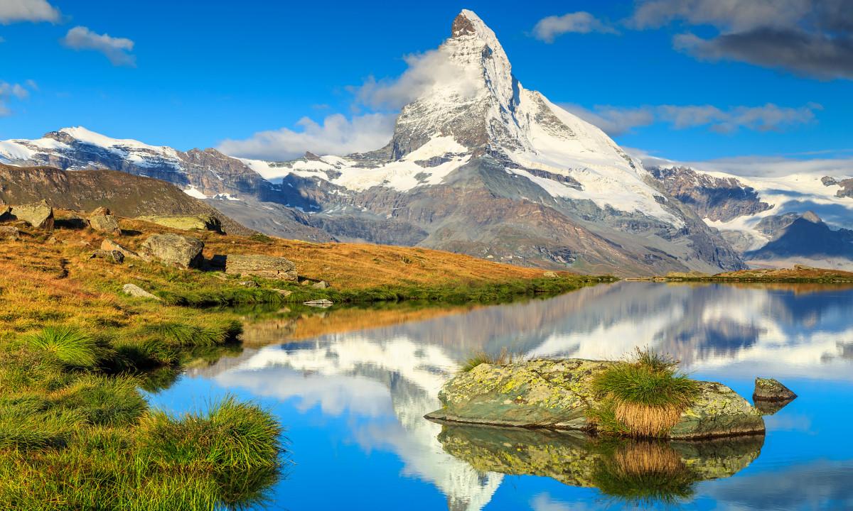 Valais i Schweiz natur