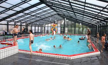 Børnevenligt poolområde
