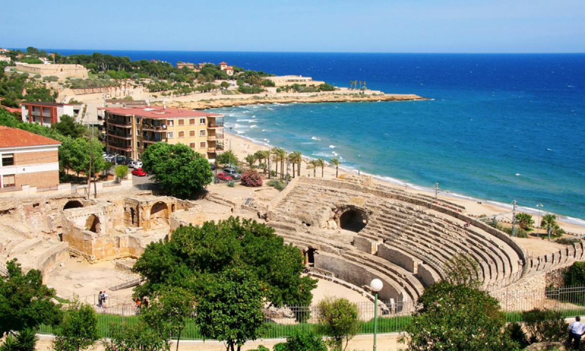 Tarragona kyst og amfiteater