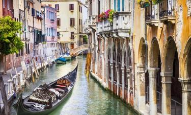 Besøg romantiske Venedig