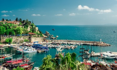 Antalyas havn - Tyrkiet