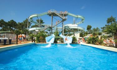 La Pinéde - Udendørs poolområde