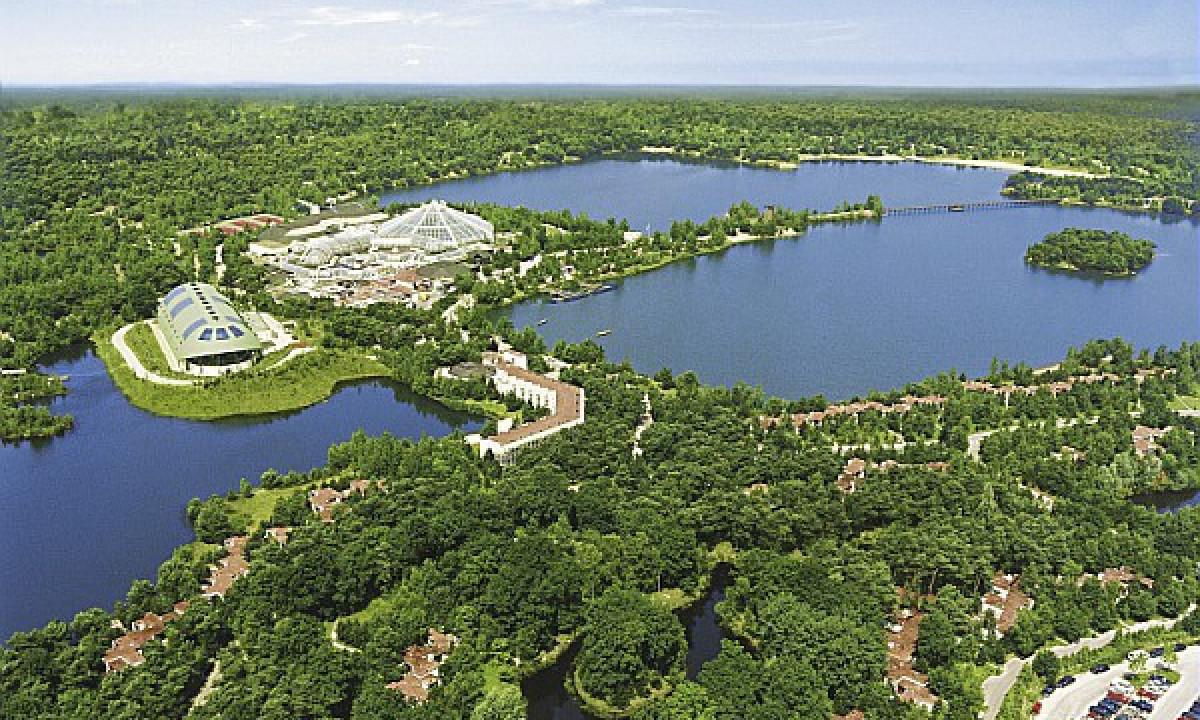 De Vossemeren - To søer ved badelandet