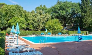 Pool Camping Colleverde in der Toskana
