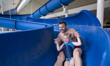 Sjovt poolområde og gode sportsfaciliteter