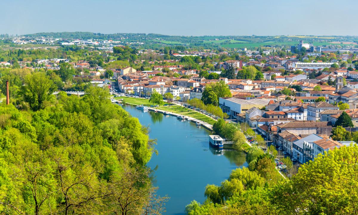 Smuk natur og landskab i Charente-Maritime