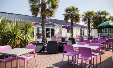 Restaurant Camping Emeraude in der Bretagne