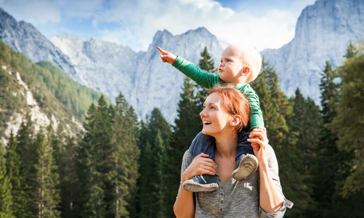 Ferieglæde - Mor og søn på udflugt