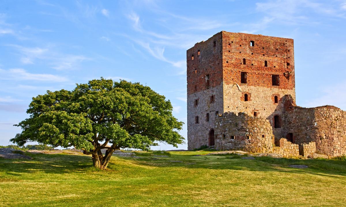 Hammershus - Borgruin på Bornholm