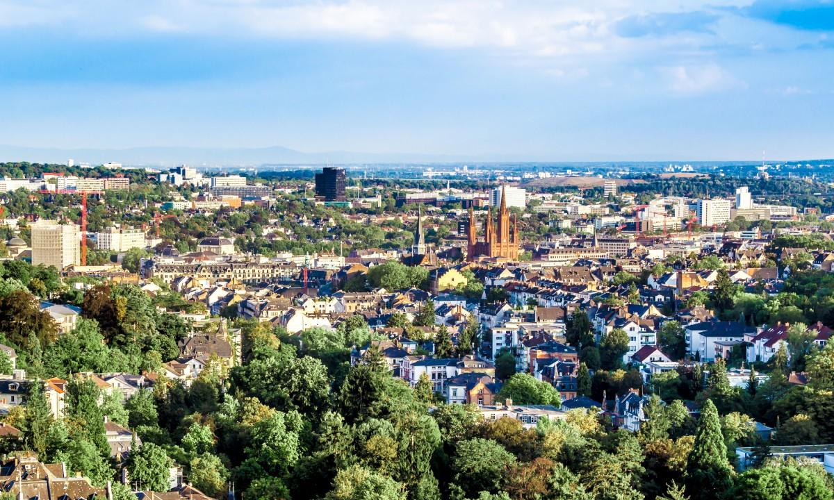 Hovedstaden i Hessen, Wiesbaden