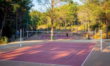 Gode tennisbaner