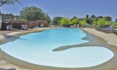Udendørs pool og strand