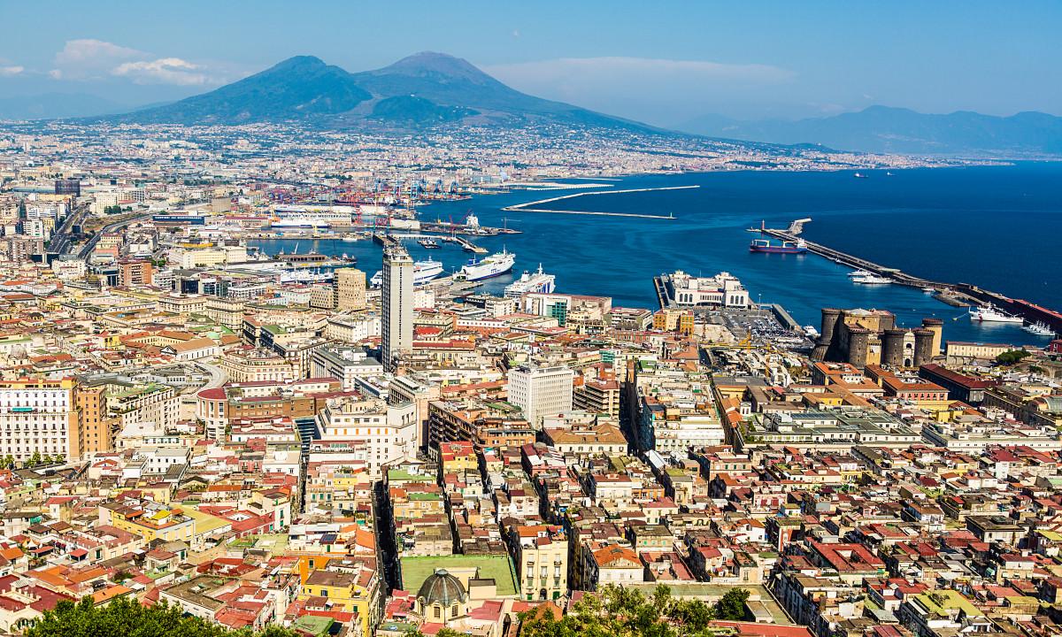 Campania - Regionen med Napolibugten og Vesuv