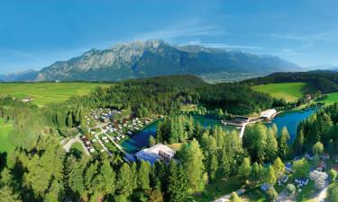 Campingpladser ved søer i Østrig eller Tyskland