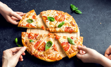 Pizza - Italiensk spise for familien