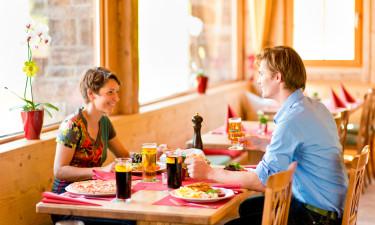 Spisesteder i området samt dagligvare-service